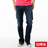 EDWIN 503ZERO直筒牛仔褲-男-中古藍