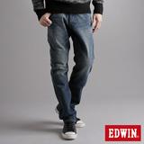 EDWIN E-FUNCTION 袋蓋中直筒牛仔褲-男-酵洗藍