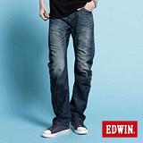 EDWIN NEW E-F503機能直筒牛仔褲-男-中古藍
