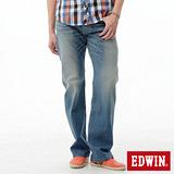 EDWIN 503ZERO直筒牛仔褲-男-漂淺藍