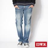 EDWIN 503 B.T印地安金蔥靴型牛仔褲-男-漂淺藍
