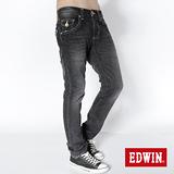 EDWIN 503 B.T袋蓋直筒牛仔褲-男-灰色