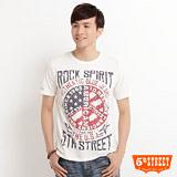 5th STREET 1965美國反戰印花T恤-男-白色
