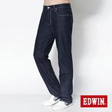 EDWIN 503 COOL RELAX天絲棉直筒褲-男款(原藍色)