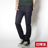 EDWIN 基本五袋高腰直筒褲-男-原藍色