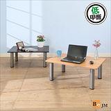 《BuyJM》低甲醛穩重型粗管茶几桌/和室桌(80*60公分)