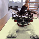 范登伯格 紐約★流行元素進口地毯-狗100x150cm