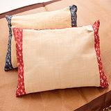 【名流寢飾】MIT-拉菲草綠豆枕-1 入