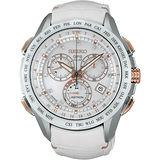 SEIKO ASTRON GPS 衛星定位太陽能真鑽限量計時腕錶-46mm 8X82-0AE0S