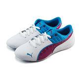 (女)PUMA DRIFT CAT 6 DIAMONDS JR 休閒鞋 白/紫/藍-30518506