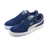 (男女)PUMA SUEDE CLASSIC + 休閒鞋 深藍/白-35656851
