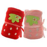 可愛草莓造型毯/嬰兒蓋毯/午睡毯/冷氣毯(二色可選)