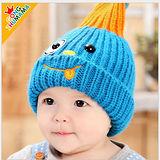 韓版小淘氣兒童毛線保暖帽
