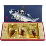 有溫度的烏魚子──莊國顯X鱻采頂級烏魚子一口吃(12片裝/2盒組)