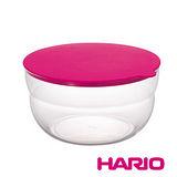 日本【HARIO】NUBA桃紅保鮮莎拉缽350ml / CWP-350-PC