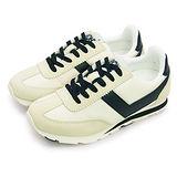 【女】PONY 繽紛韓風復古慢跑鞋 SOHO 美國系列 米黑 53W1SO79OW