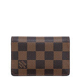 Louis Vuitton LV N63145 棋盤格紋信用卡簡便短夾 預購