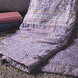 BBL 浪漫嬉迷(紫)100%天絲.印花雙人涼被