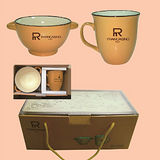 【弗南希諾】楓情咖啡杯碗組FR-3230