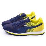 PUMA 男款ST Runner FR 輕量運動鞋359356-03-藍黃