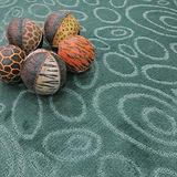 范登伯格 星雲★夢想圈圈加厚加柔地毯-綠100x150