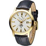 東方錶 ORIENT 經典紳士動力儲存機械錶 FFD0J002W