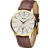 東方錶 ORIENT 日系簡約時尚紳士錶 FUNG5002W