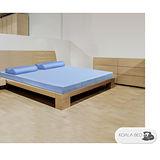 § Koala Bed § 日本大和防蟎抗菌竹炭記憶床墊︱釋壓支撐/波浪面/11cm厚/標準雙人/寬5尺