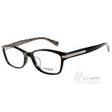 COACH眼鏡 時尚百搭俐落款(黑) #CO6065F 5261