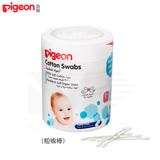 日本《Pigeon 貝親》紙軸棉花棒(粗)100支入