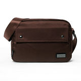 AIRWALK - 袋隨走 時空漫步系列 雙口袋側背包(小) - 咖