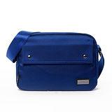 AIRWALK - 袋隨走 時空漫步系列 雙口袋側背包(小) - 藍