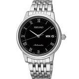 SEIKO Presage 羅馬仕女機械腕錶-黑34mm 4R36-04F0D(SRP885J1)