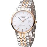 LONGINES 浪琴優雅系列紳士機械腕錶 L48105127