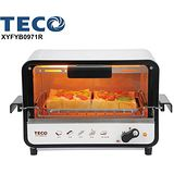 【TECO 東元】防燙外取式電烤箱(9L) XYFYB0971R
