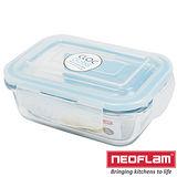 韓國Neoflam-玻璃保鮮盒-長方形0.37L