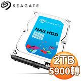 Seagate 希捷 2TB 3.5吋 5900轉 64M快取 SATA3 NAS專用硬碟(ST2000VN000)
