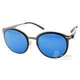 VYCOZ太陽眼鏡 半圓框水銀鏡面款(灰-銀) #LANGKER SILGSL