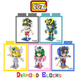LOZ 鑽石積木 9480-9484 戰鬥卡通系列 腦力激盪 益智玩具