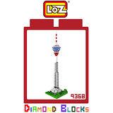LOZ 鑽石積木 9368 吉隆坡塔 建築系列 腦力激盪 益智玩具