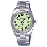 LICORNE entree  時刻解謎日期腕錶-綠