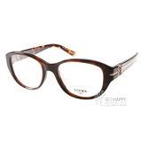 LOEWE眼鏡 別緻LOGO淑女款(琥珀) #LW875 C09XK
