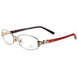 SWAROVSKI-時尚光學眼鏡(亮金色)SW5021