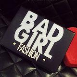 【ipad Air 2皮套】韓國BAD GIRL FASHION ipad Air 2皮套~支援休眠喚醒功能﹝惡魔黒﹞