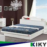 【KIKY】二代日式藍鑽蓆面硬式彈簧單人床墊3尺