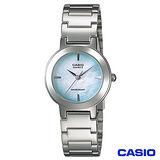CASIO卡西歐 绚彩貝殼錶盤時尚淑女錶 LTP-1191A-3C