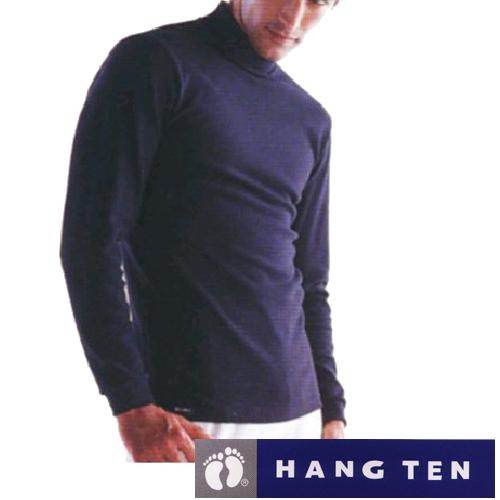 【HANG TEN】時尚彩色高領長袖上衣4件組(隨機取色)