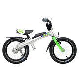 RENNRAD 鋁合金變形滑步車/腳踏車兩用童車14吋 綠