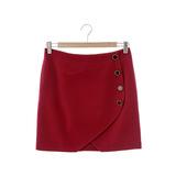 【Jessica】優雅氣質短裙-紅