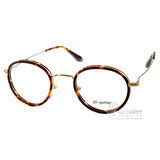 Go-Getter眼鏡 簡約圓框款(亮琥珀-金) #GO2019 C06